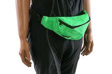 Fanny Pack, Bum Bag, Bolsa de Manillar Bicicleta, verde brillante Ciclismo, Correr, caminar