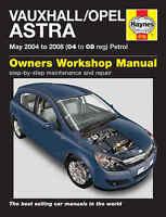 Vauxhall Astra Repair Manual Haynes Workshop Service Manual  2004-2008 4732