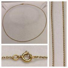 BELLA COLLANA IN ORO 750er oro collana collier gioielli oro collana in oro