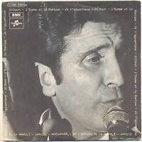 GILBERT BECAUD Vinyl 45T 7  L'homme et la musique 10865