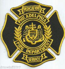 "Philadelphia, PA  (4"" x 4"" size)  fire patch"