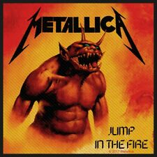 METALLICA PATCH / AUFNÄHER # 57 JUMP IN THE FIRE - 10x10cm