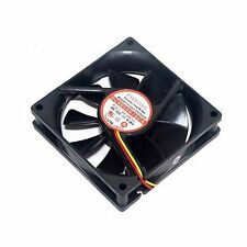 PC Computer Case Cooling Fan Cooler 3Pin 4Pin 80mm 80x80x20mm Silent