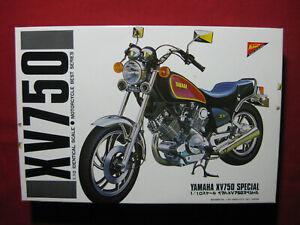 Yamaha XV750 Special 1/10 Vintage Nichimo Motorcycle Model Kit Motorbike Rare