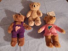 Hallmark Bears, Boy/Girl, Love & Kiss, Nwt & a Silvestri Stuffed Bear