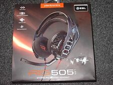 Plantronics - RIG 505 Lava Over-the-Ear Gaming Headset - Black/Orange