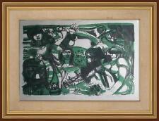 arte moderna contemporanea Espressionismo Genti del Pò firma Giuseppe Motti Pda