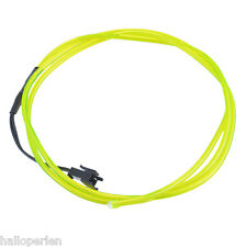 HP EL Wire 12V Car Interior Decor Fluorescent Neon Strip Cold light Tape