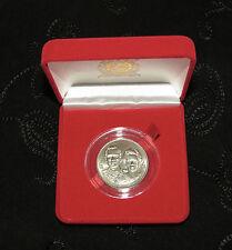 King Bhumibol Adulyadej Rama IX and Queen 1992 Thailand 10 Baht Coin Thai w/ Box