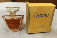 New listing Poeme Lancome Paris Mini Perfume And Box