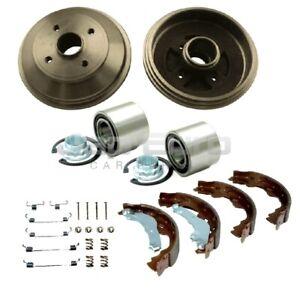 For Suzuki Swift 2005-2011 Rear Brake Drum Shoes Fitting Kit & Wheel Bearing