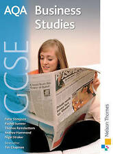 AQA GCSE Business Studies by Peter Stimpson, Thomas Ramsbottom, Rachel Sumner, Andy Hammond (Paperback, 2009)
