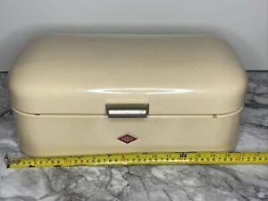 Wesco Mini Grandy Bread Bin Cream Vintage Style Large