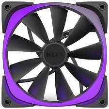 NZXT Aer RGB140 Single Pack RF-AR140-B1 140mm Digitally Controlled RGB LED Fans