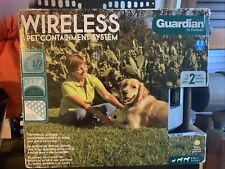 New listing Mint Guardian by Petsafe Wireless Pet Containment System Gif-300-11 Tested Works