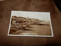 Kent real photographic postcard - Nice scene - Beach & Downs - Herne Bay