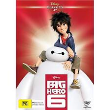 BIG HERO 6 (Disney) DVD Region 4 BRAND NEW & SEALED!