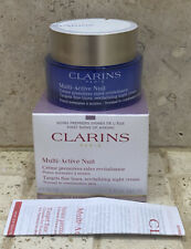 CLARINS MULTI-ACTIVE NUIT REVITALIZING NIGHT CREAM 50ml NEW & SEALED RRP £45