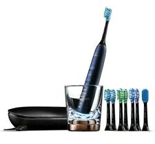 Philips Diamond Clean Smart 9700 with 8 Brush head--Lunar Blue   New Sealed