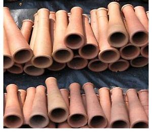 50 x Indian Clay Chillum Chillam Handmade Smoking Terracotta Pipes India