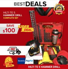 Hilti Te 5 Hammer Drill Display Free Mug Bits A Lot Of Extras Quick Ship