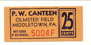 USA WWII POW Camp Chit PA-18-1-25b Olmstead Field PA 25 Cents Prisoner of War