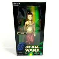 "PRINCESS LEIA WITH CHAINS STAR WARS Slave Leia Power of the Force 12"" Figure NEW"