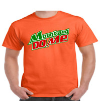 MOUNT and DO ME T Shirt TEE Mountain Dew Soft Drink Funny Men's