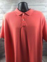 ST. JOHN'S BAY Men's Polo Style Short Sleeved Shirt / SIZE XL/XG / Orange
