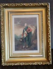 Antique Beautifully Framed Hand Colored Print ~ SCOTTISH GENTLEMAN NOBELMAN