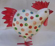 Metal Decorative Chickens  Home Decor  FREE POST NEW   Birds  Hens Cockerels