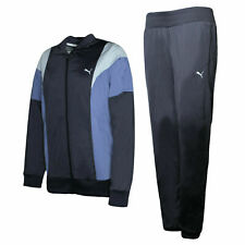 Puma Poly Suit Womens Zip Lightweight Tracksuit Polyester Blue 834333 16 A50B