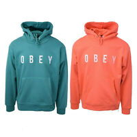 Obey Men's Embroidered Anyway L/S Pullover Hoodie (Retail $68)