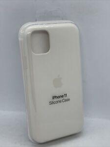 Genuine Official Apple iPhone 11 Silicone Case - Soft White Original MWVX2ZM/A