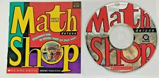 Scholastic Math Shop Deluxe Ages 8-13 CD-Rom & Inserts Only (1998)
