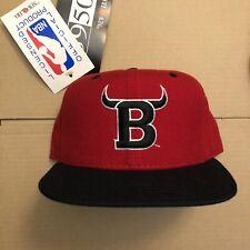 Vtg NWT Chicago Bulls Fitted Hat Cap New Era Wool Air Jordan USA Made Size 7 1/4
