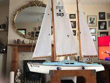Model Handmade Yacht/pond boat