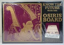 INVICTA VTG 1980 GREEK OSIRIS KNOW THE FUTURE BOARD GAME w/ TAROT CARDS SEALED