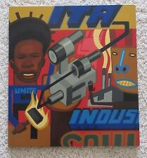 R.H JONES SIGNED CONTEMPORARY PAINTING URBAN INDUSTRIAL POP ART ABSTRACT MOD