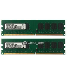 High Density 8GB 2x4GB PC2-6400 DDR2 800MHZ 240pin DIMM AMD Motherboard  Memory