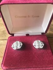 JACQUELINE KENNEDY CAMROSE & KROSS COLLECTION - Marquise Clip On Earrings