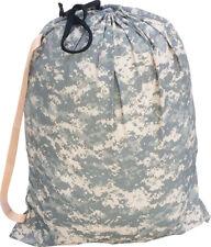 U.S. Military BARRACKS BAG ACU Camo Large 24x31 Laundry Bag Made in USA