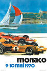 Monaco 9 - 10 mai 1970 Vintage Racing Poster