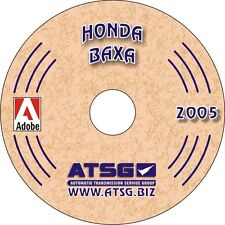 Honda BAXA ATSG Rebuild Manual M6HA Accord Transmission Transaxle Overhaul Book