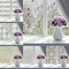PVC Waterproof Frosted Glass Window Film Sticker Decal  Bedroom Bathroom Privacy