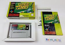 Super Nintendo SNES Super Tennis PAL