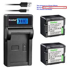 Kastar Battery LCD Charger for HITACHI DZ-BP14S & DZ-GX5020 DZ-HS300 DZ-HS300A