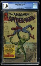 Amazing Spider-Man #20 CGC GD- 1.8 Off White to White 1st Scorpion!