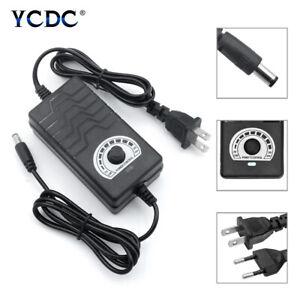 Universal AC/DC Adapter Multi-Voltage Regulated Power Supply 1-24V 3-12V 9-24V