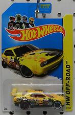 DODGE BOYS CHALLENGER DRIFT CAR 2010 08 09 11 12 13 YELLOW MOPAR HOT WHEELS HW